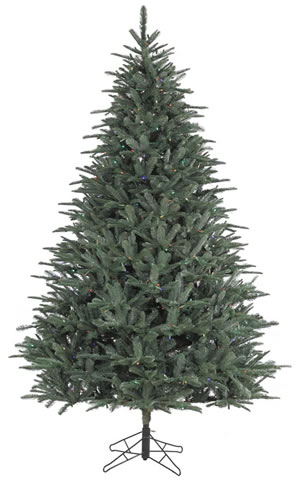 Noble Classic Christmas Tree PerfectLit LED Multi-Color 7.5ft